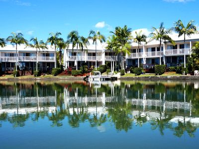 Portside Noosa Waters, absolute waterfront holiday accommodation.