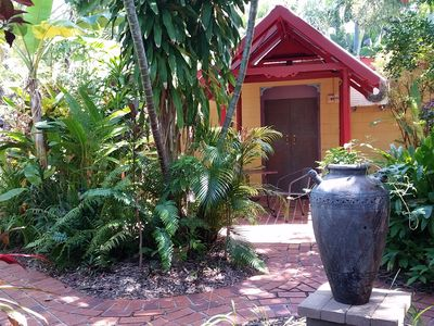 Tropical Balinese style Garden and Accommodation