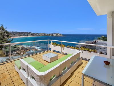 The Perfect Entertainer - 30Sqm balcony overlooking Bondi Beach