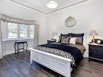 Beds have quality mattresses and Linens for a comfortable nights stay.