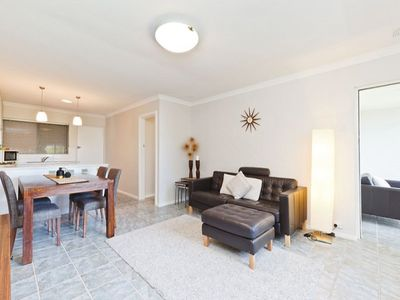 Spacious and bright open plan living