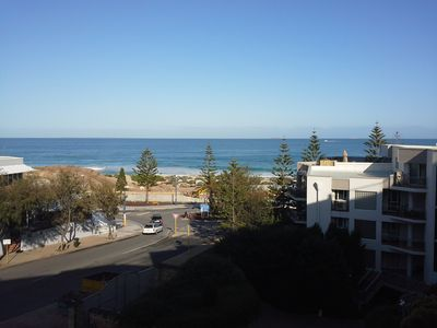 Scarborough beach view from balcony