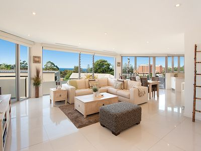 Stunning living space with views