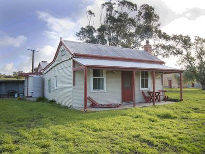 Boundary Riders Cottage at historic Poltalloch Station