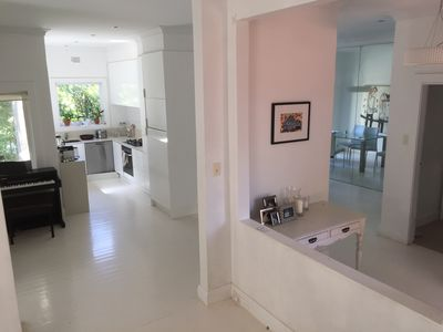 Kitchen, dinning, foyer
