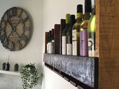 Dining Room, choice of wines to purchase at your convenience