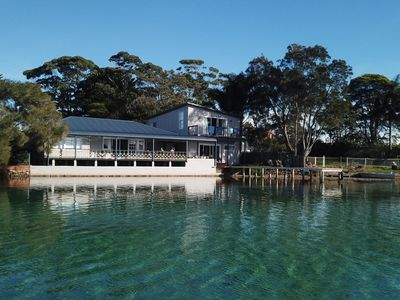 The QuarterDeck, from Burrill Lake inlet