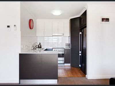 A clean, modern & fully equipped kitchen for your use