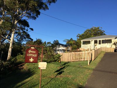 Grace Cottage. Easterly views of the Gold Coast