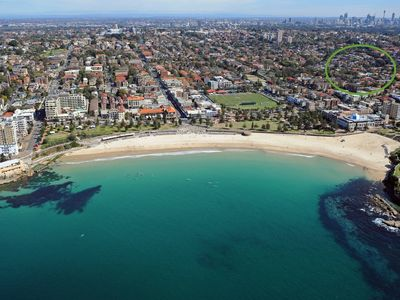 8 minutes to Coogee Bay Road by foot, 20 minutes to Central Station by bus