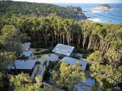 'The Camp' is a property set on 50 acres of privately owned bushland.