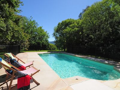 Your private solar heated pool
