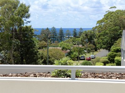 Balcony View from first floor 300m to Kendalls Beach