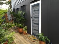 Entry is through your own private garden