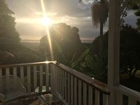 Whatch the sun come up on your private verandah with your morning coffee