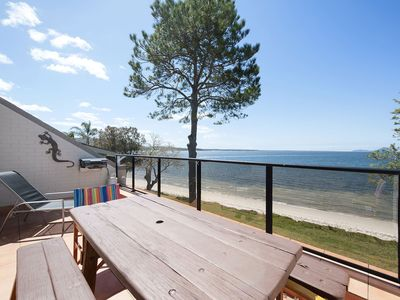 5 'Casuarina's ' 33 Soldiers Point Road - superb waterfront unit