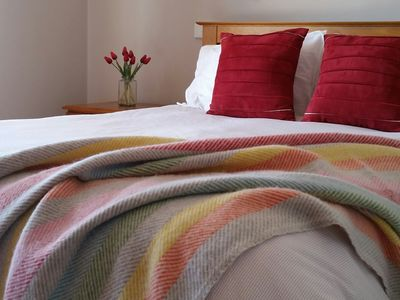Quality bed linen, and furnishings ensure a restful nights sleep.