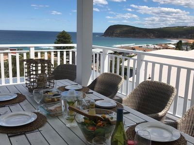 Entertain in style, relax with a book, spot a whale, enjoy breathtaking views...