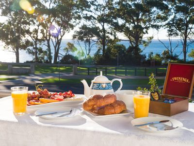 Enjoy breakfast and watch the dolphins swim by. Breakfast is not provided