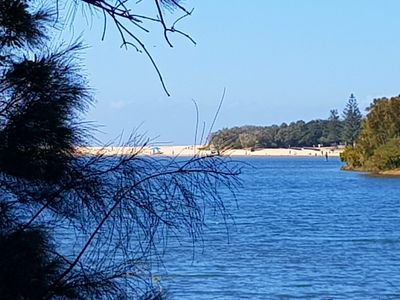 Beach & lake Paradise is only 100 metres from your front door..
