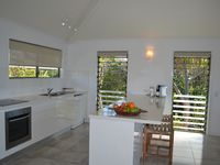 Kitchen in one of the beach houses