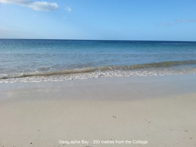 Geographe Bay - 350 metres from the Cottage