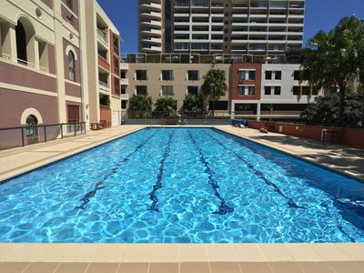 Sundrenched Swiming Pool