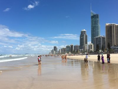 Surfers Paradise Beach Close by