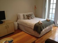 Standard Double Bed with linen and towels