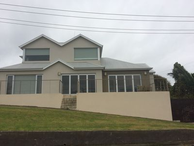 Front with Lake and Sea Views