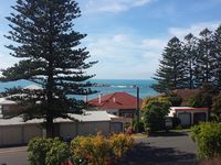 View from your balcony, 1 street to Horsehsoe Bay