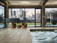 Indoor POOL with Spa, Sauna, and Steam Rooms