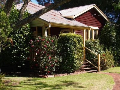 Late summer at Dwellingup Mill House