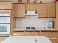 Kitchen with filtered tap, dishwasher and a new double oven
