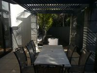 The lovely, shaded Courtyard