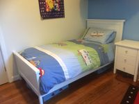 Third bedroom with single bed