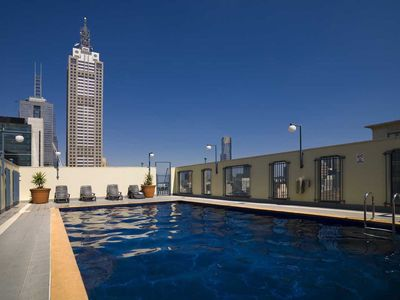 Year round rooftop pool.