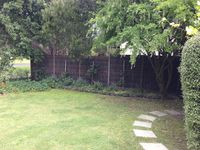 Fully enclosed private back yard