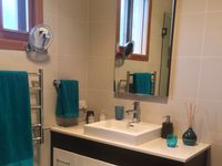 En-suite with shower and toilet