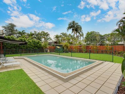 10m x 5m pool and enormous landscaped private yard.