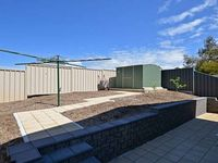 Backyard with 1.8M Colourbond Fencing