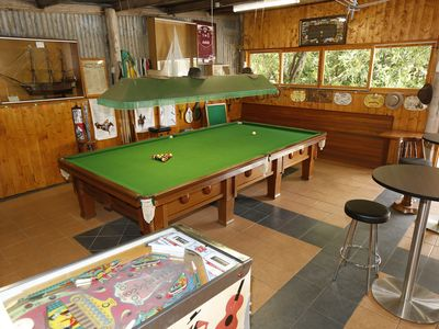 Man cave and games room