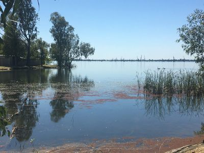 Paddle Boat Cove on Lake Mulwala