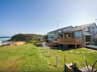 Panoramic view of the house, apartment and beach