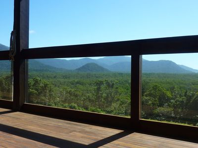 Mountain & Ocean Views from Daintree Holiday Homes - La Vista.