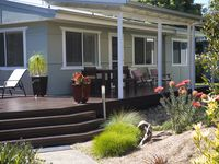 Beautiful beach house only metres from Jervis Bay.