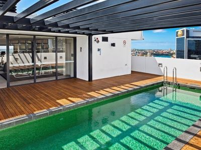ROOF TOP POOL AND GYM