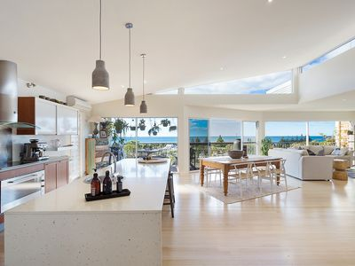 Kitchen, Dining and Lounge with View