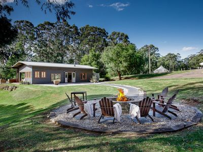 Attunga Retreat Outdoor Fire Area