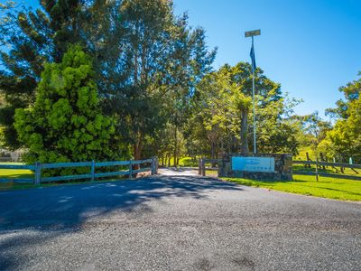 The Entrance to Friday Creek Retreat
